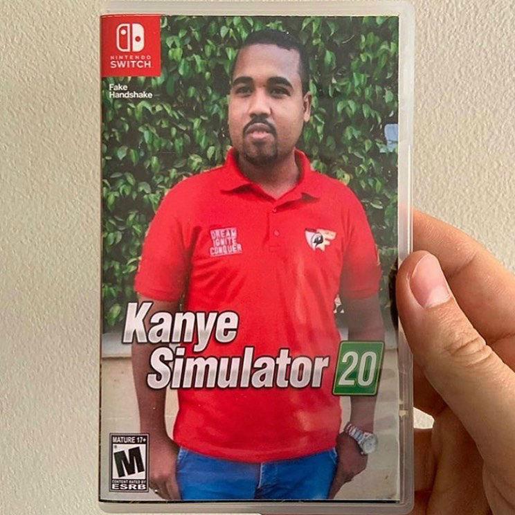kanye simulator 20 meme