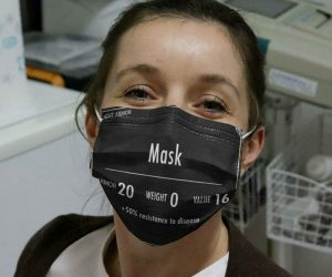 Light Armor +50% Resistance To Disease Gaming Face Mask