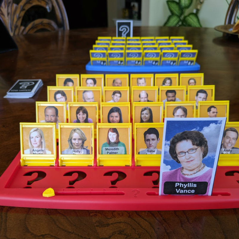 office guess who printable