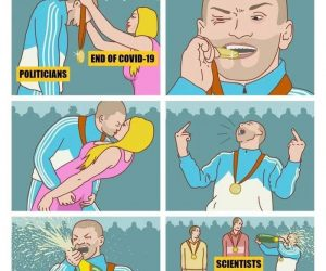 Politicians when this pandemic ends – comic