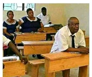Primary School Children Coming Back To School After Corona Ends In 2040 – Meme