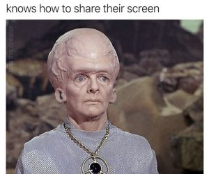 The One Person In The Video Chat That Knows How To Share Their Screen – Zoom Meme