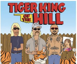 Tiger King of The Hill meme