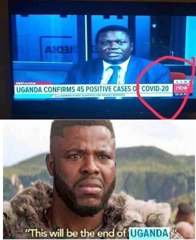 uganda covid 20 meme