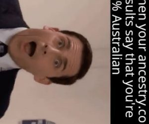 When Your Ancestry Results Say You're 50 Percent Australian – Office Michael Scott Meme