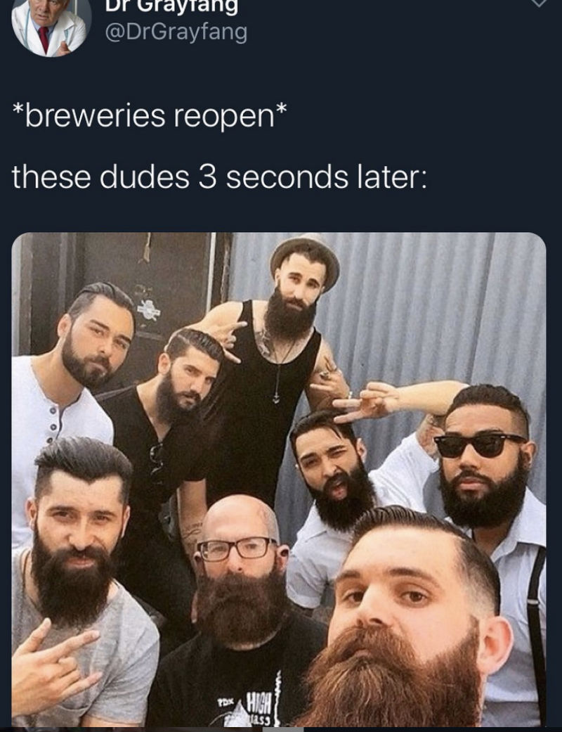 breweries reopen meme