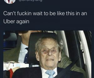 Can't Wait To Be Like This In An Uber Again – Meme