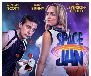 Coming Soon That's What She Said Space Jan – The Office Space Jam Parody Movie Poster