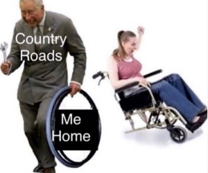 Country Road Take Me Home – Prince Charles Meme