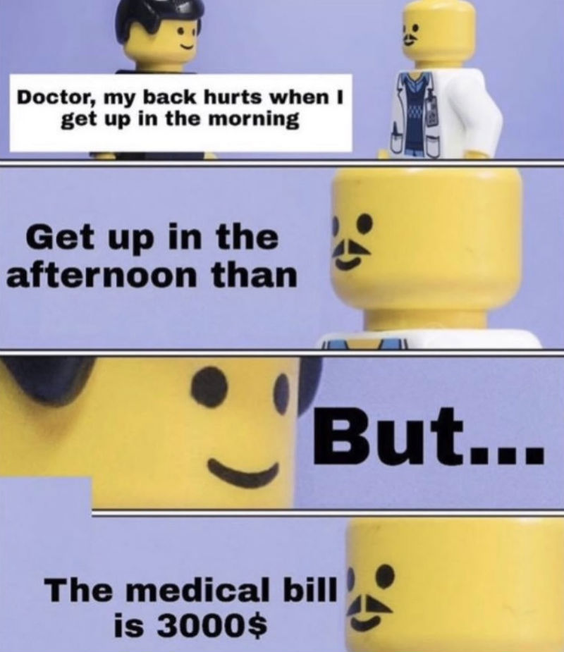 doctor my back hurts