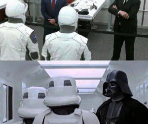 Elon Musk Darth Vader SpaceX Meme