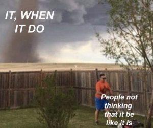 It When It Do – People Not Thinking It Be Like It Is Meme