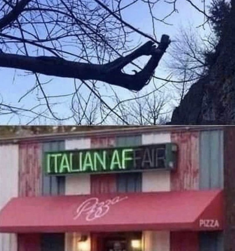 italian af restaurant meme