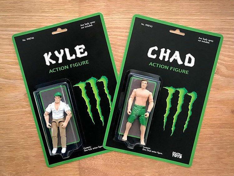 kyle chad action figures meme