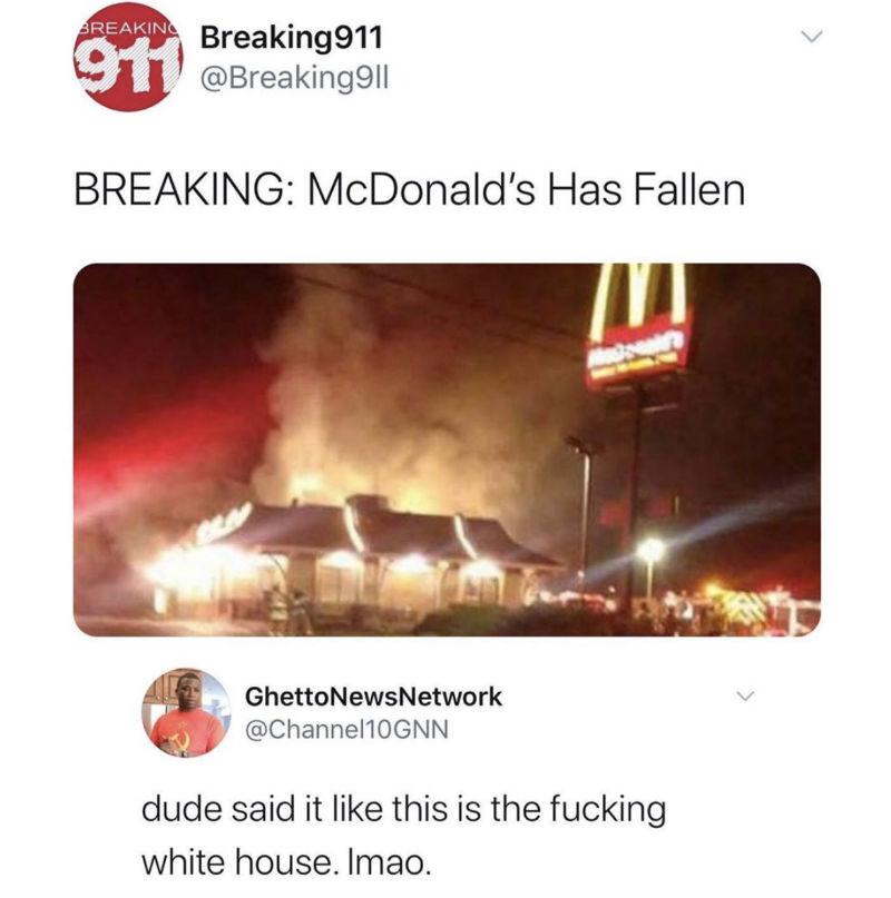 mcdonalds has fallen