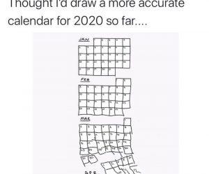 More Accurate Calendar For 2020 So Far – Meme