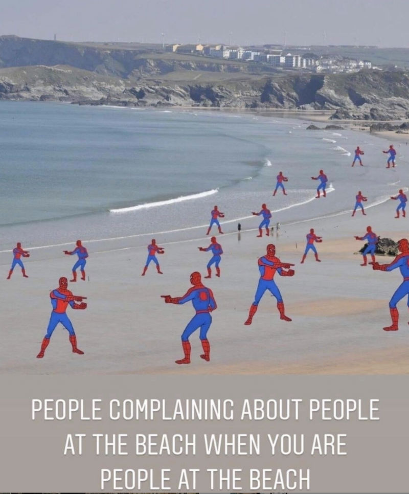 people complaining about