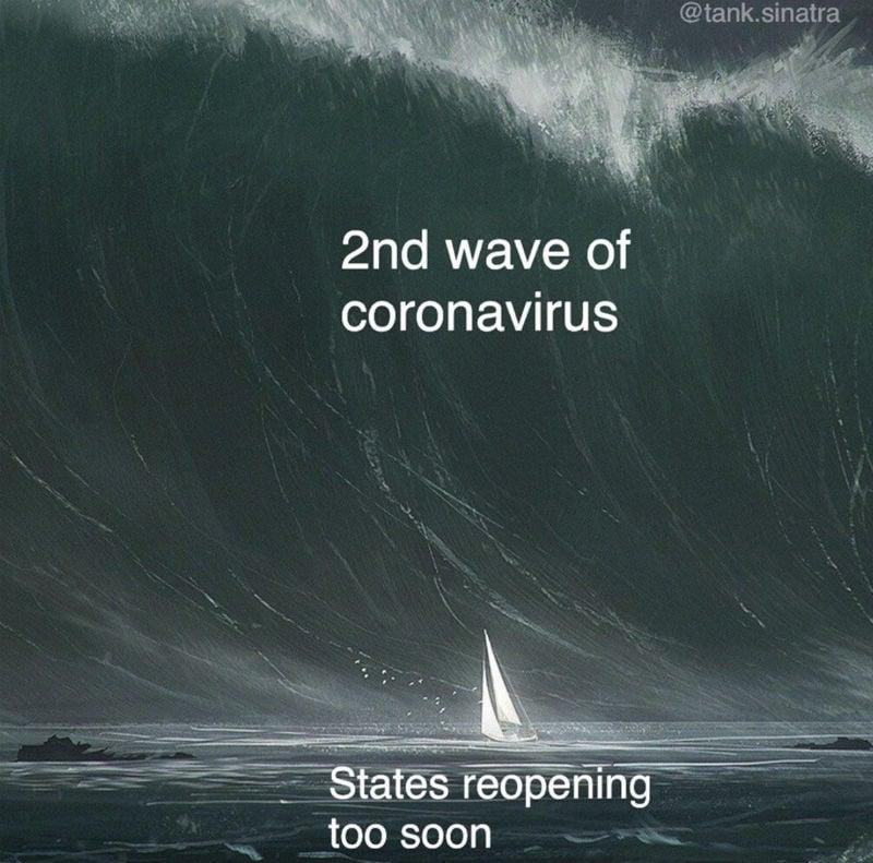 2nd wave of coronavirus meme