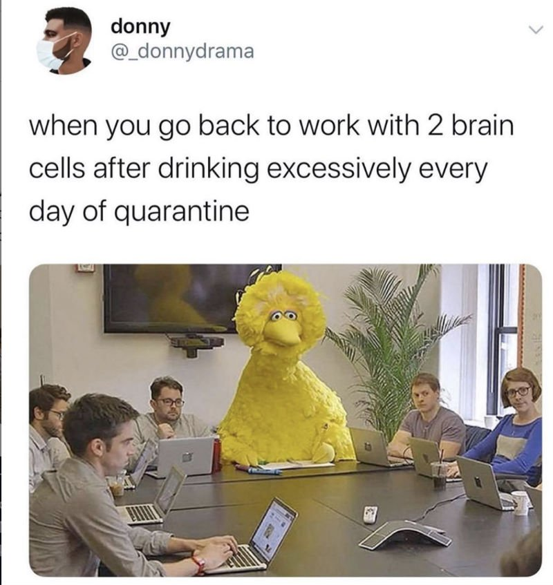 when you go back to work