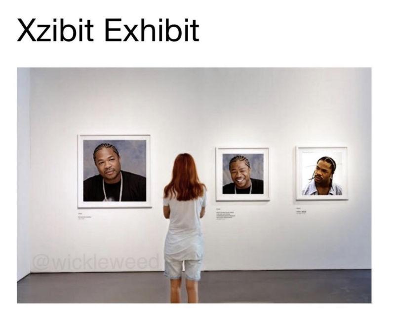 xzibit exhibit meme