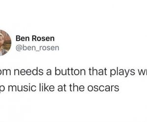 Zoom Needs A Button That Plays Wrap It Up Music Like At The Oscars – Meme