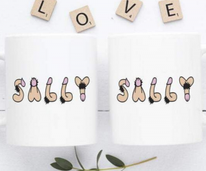Personalized Penis Mug –Ever wanted your name written in penises on a mug? Well now you can with a Personalized Penis Mug!