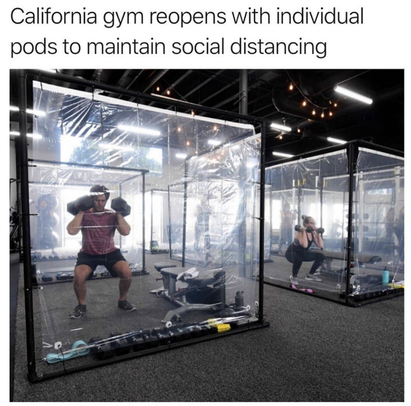 california gyms reopen