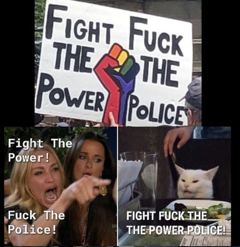 fight fuck the power