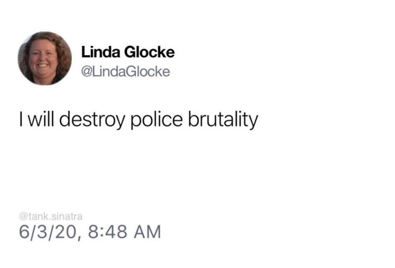 i will destroy police brutality