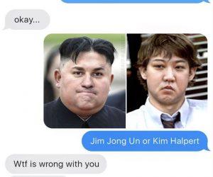 Jim Jong Un Or Kim Halpert – Meme