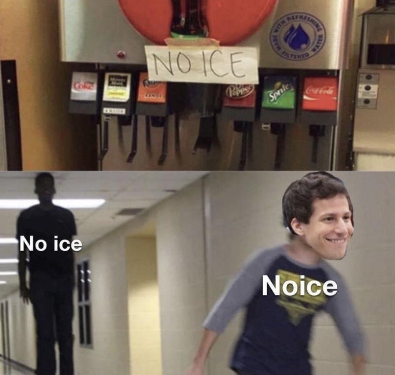 no ice noice meme
