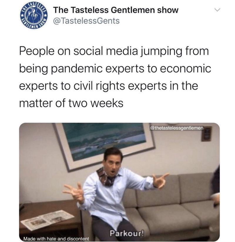 people on social media