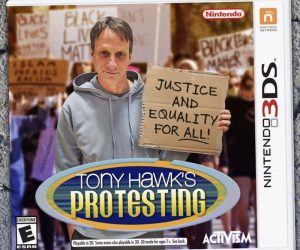 Tony Hawk Protesting Meme Game
