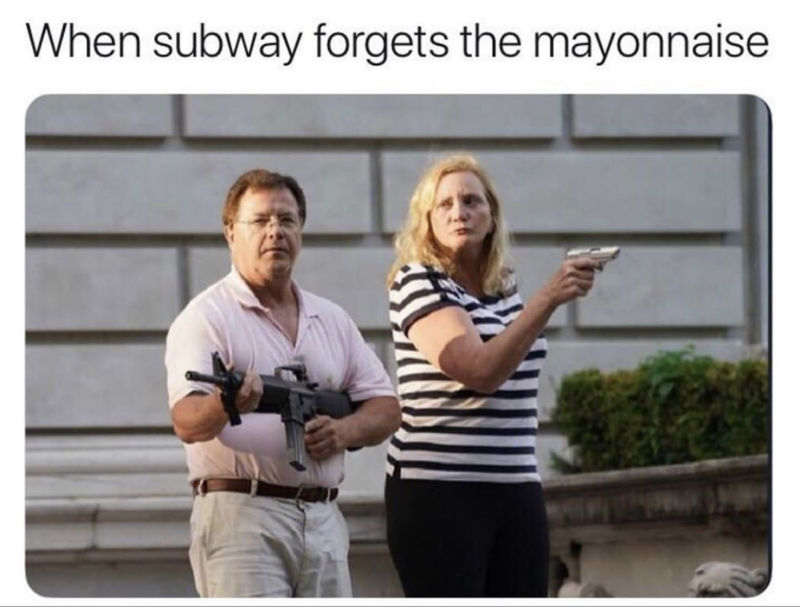 when subway forgets the mayo meme