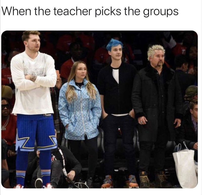 when the teacher