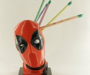 Deadpool Pen And Pencil Holder – The best desk accessory ever!