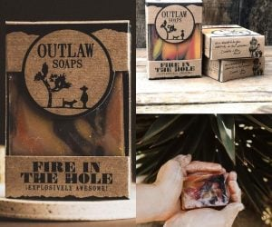 Man Scented Soap – It comes in whiskey, gun powder, and bacon scents as well!