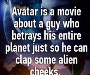 Avatar Is A Movie About A Guy Who Betrays His Entire Planet