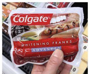 Colgate Whitening Franks – Meme