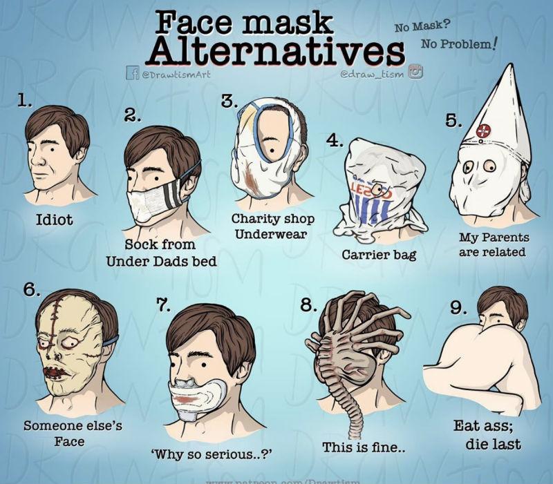 face mask alternatives