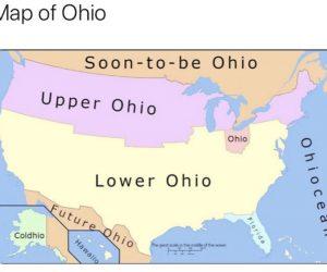 Map Of Ohio – Meme
