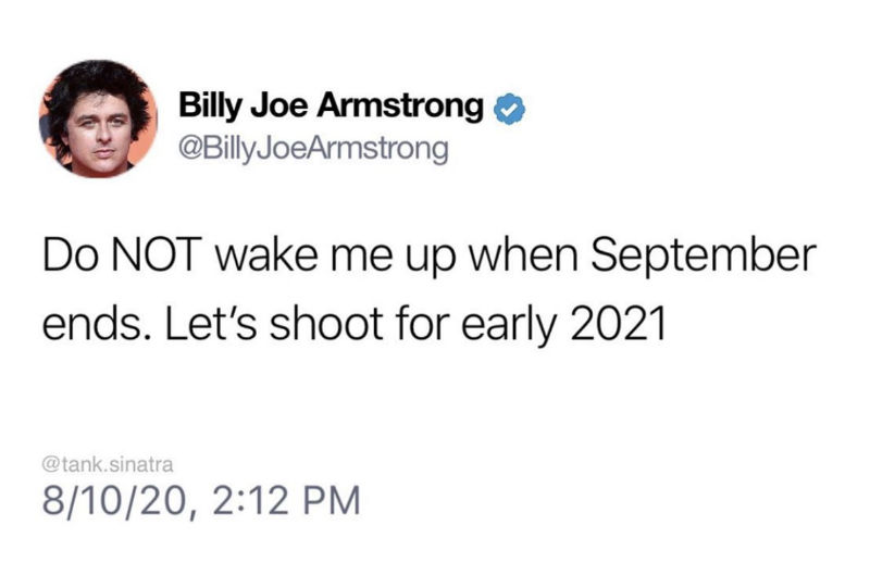 do not wake me up when september ends