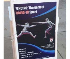 Fencing Is The Perfect Covid Sport – Meme
