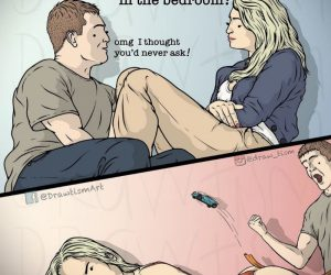 How Do You Feel About Using Toys In The Bedroom? – Comic via @draw_tism