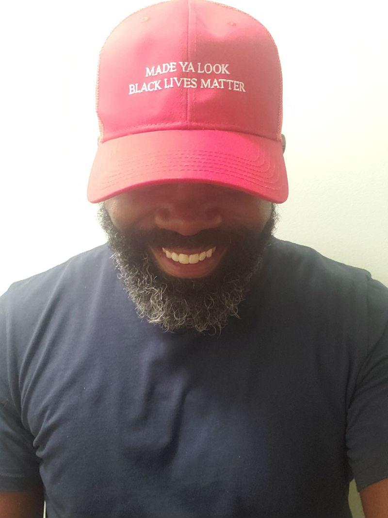 made you look black lives matter hat