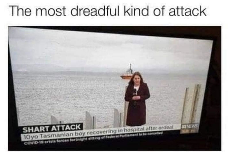shart attack meme