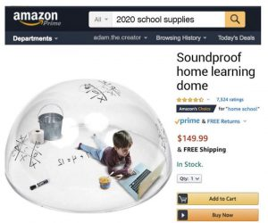 Soundproof Home Learning Dome – Meme