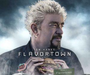 Tom Hanks Flavortown Movie Poster – Meme