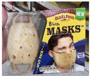 Tortilla face masks – meme