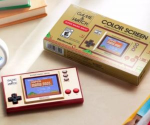 Super Mario Game & Watch – Nintendo is going back to the beginning with a modern version of its original Game & Watch handheld that's been revamped with a full-color